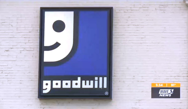 Goodwill Kentucky logo sign