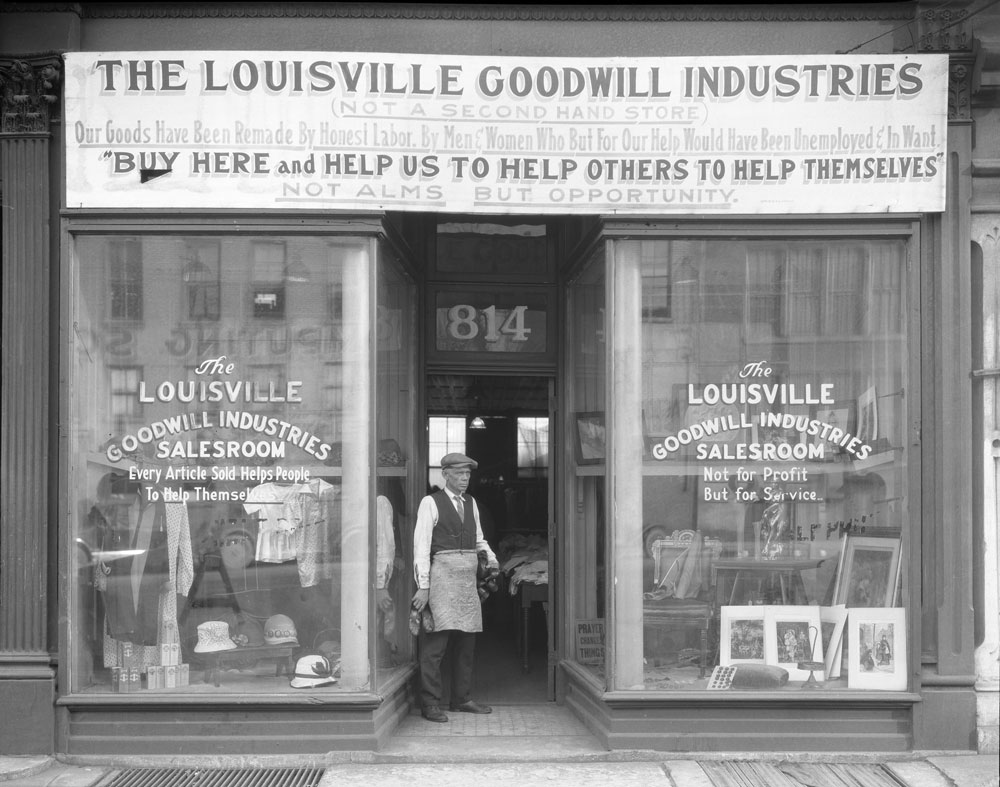 Goodwill Kentucky historic storefront image