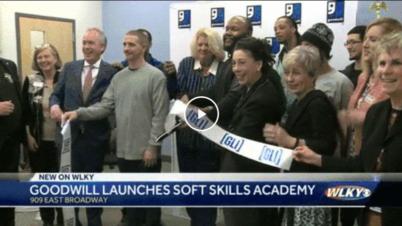 Goodwill Kentucky soft skills academy launch party