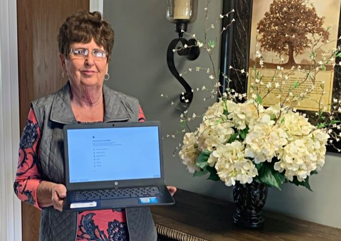 Betty Smith HP Chromebook